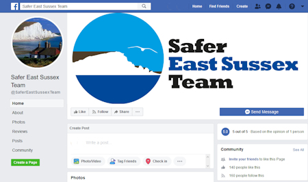 Safer East Sussex Team on Facebook